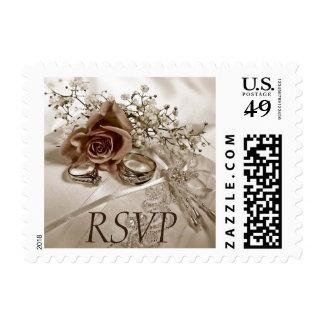 Franqueo de RSVP del boda