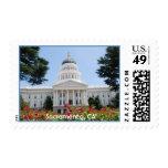 Franqueo de Sacramento del capitolio del estado de