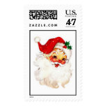 Franqueo de Santa del navidad de los años 50 del Timbre Postal