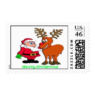 Franqueo de Santa y de Rudolph