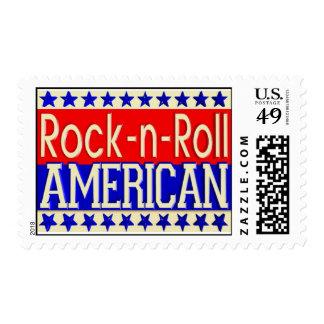 Franqueo del americano del Roca-n-Rollo