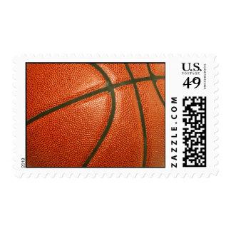 Franqueo del baloncesto sellos postales