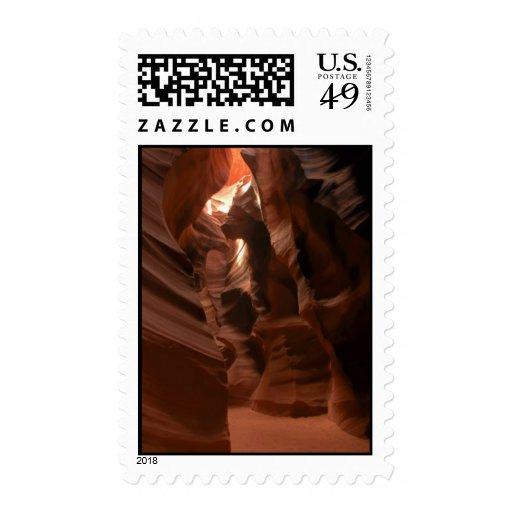 Franqueo del barranco del antílope sello postal