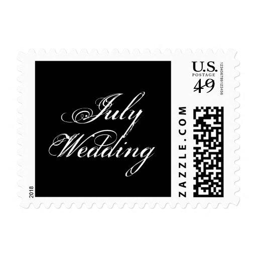 Franqueo del boda de julio