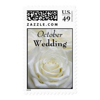 Franqueo del boda de octubre