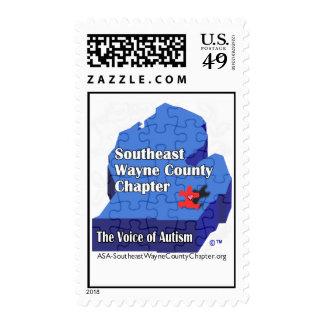Franqueo del capítulo del condado del ASA SE-Wayne