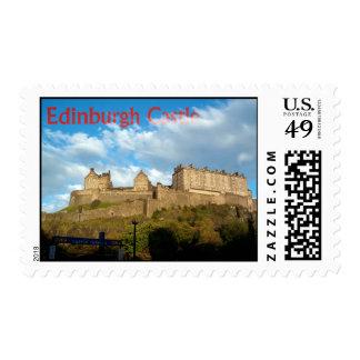Franqueo del castillo de Edimburgo Sellos Postales