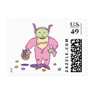 Franqueo del chocolate de Ghoulie Gimme Timbres Postales