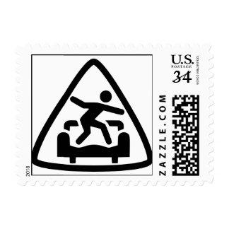 Franqueo del CS del triángulo Estampilla