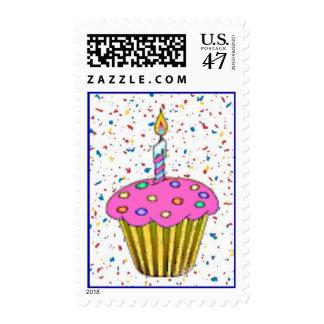 Franqueo del cumpleaños sellos