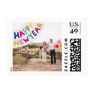Franqueo del día de fiesta de la foto pequeño: sello postal