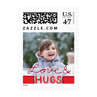 Franqueo del día de fiesta de la foto pequeño: timbre postal