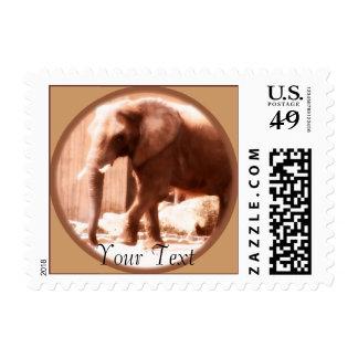 Franqueo del elefante africano