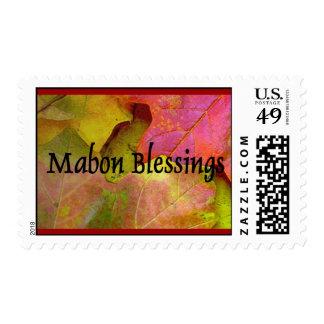 Franqueo del equinoccio del otoño de Mabon-