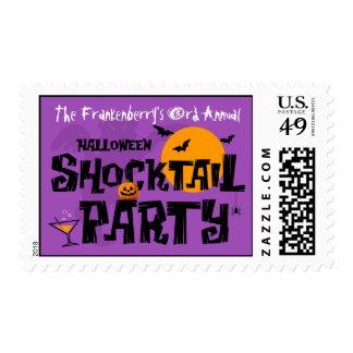 Franqueo del fiesta de Halloween Shocktail