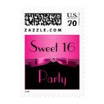 Franqueo del fiesta del dulce 16 del rosa y del ne