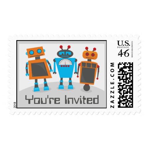 Franqueo del fiesta del robot