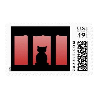 Franqueo del gato negro