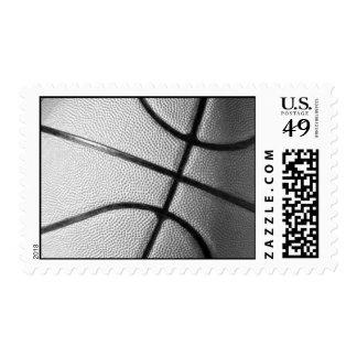 Franqueo del juego de baloncesto estampillas