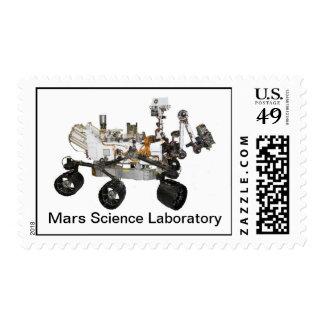 Franqueo del laboratorio de ciencia de Marte