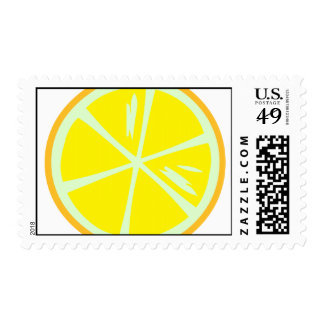 Franqueo del limón sello