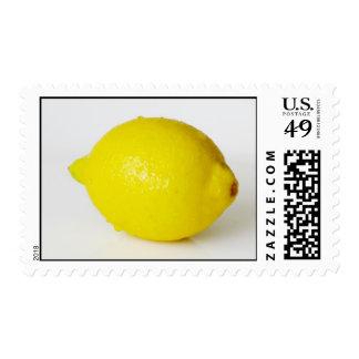 Franqueo del limón sellos