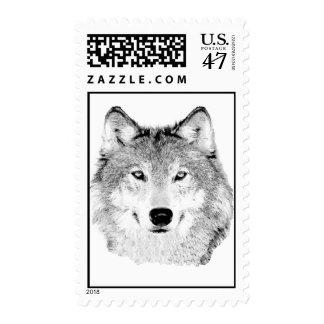 Franqueo del lobo sellos