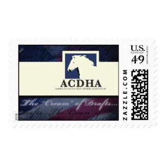 Franqueo del logotipo $0,44 de ACDHA Estampilla