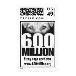 franqueo del logotipo 600Million