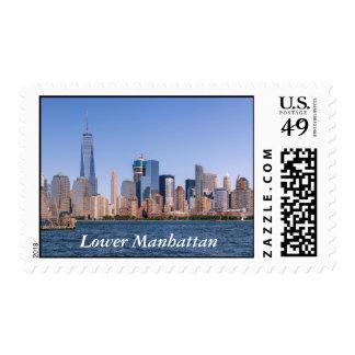 Franqueo del Lower Manhattan Sellos