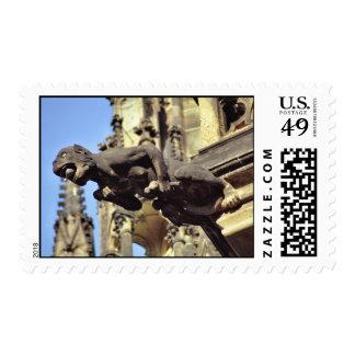 Franqueo del monstruo del Gargoyle Sello Postal