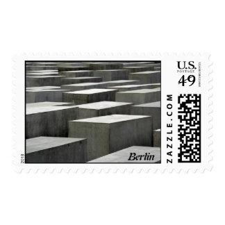 Franqueo del monumento del holocausto sello