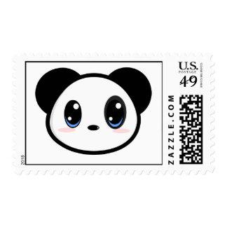 Franqueo del muchacho de la panda de Chibi
