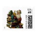 Franqueo del navidad del padre del vintage pequeño sello