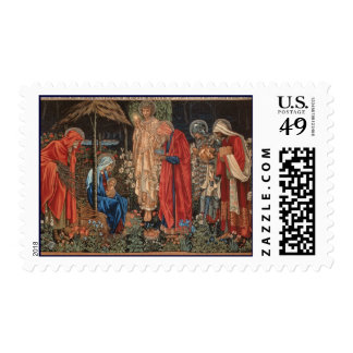 Franqueo del navidad del Pre-Raphaelite de Jesús d