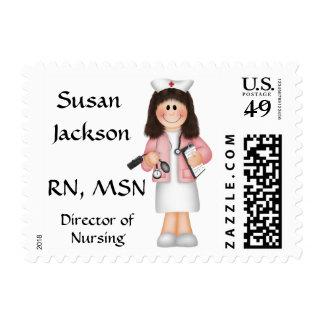 Franqueo del oficio de enfermera de Personalzied