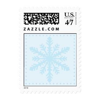 Franqueo del país de las maravillas del invierno timbres postales