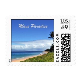 Franqueo del paraíso de Maui