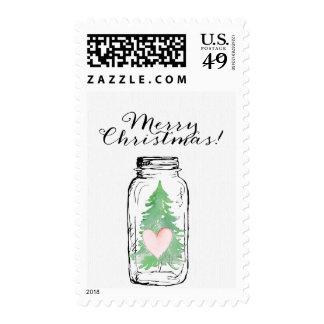 Franqueo del personalizable del árbol de navidad d