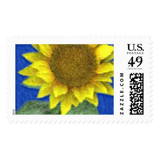 Franqueo del personalizado de la acuarela del timbres postales