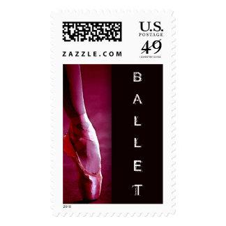 Franqueo del personalizado del ballet