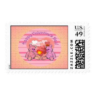 Franqueo del personalizado del día de San Valentín Sello Postal