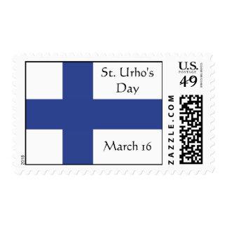 Franqueo del personalizado del día del St. Urho