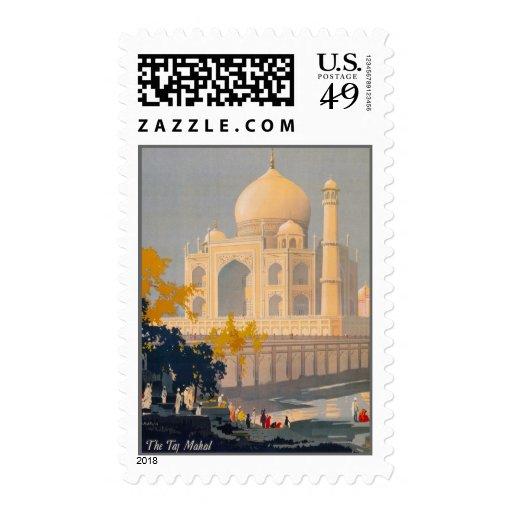 Franqueo del personalizado del Taj Mahal Sellos Postales