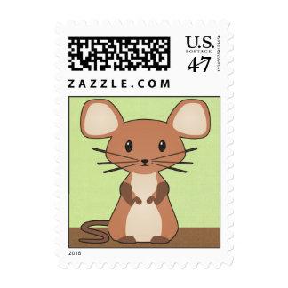 Franqueo del ratón del bebé timbres postales