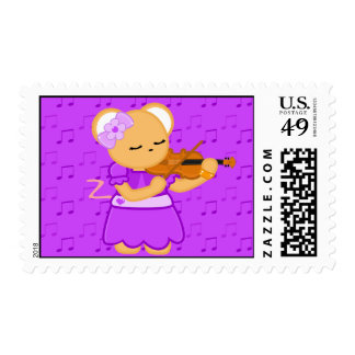 Franqueo del ratón del violinista