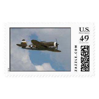 Franqueo del rayo P-47