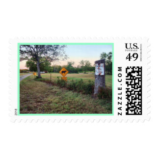 Franqueo del retraso timbres postales