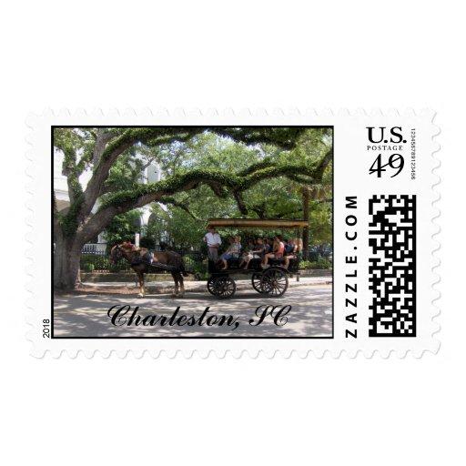 Franqueo del SC de Charleston Sello Postal