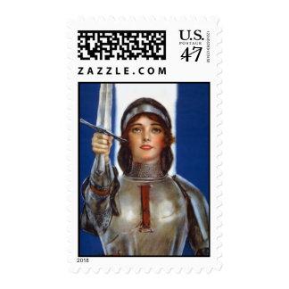 Franqueo del St. Juana de Arco Estampillas